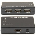 Switch HDMI 3 Port 1080p ada Remote