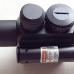 Jual Telescope Riflescope laser senapan M6 4×25 Tactical
