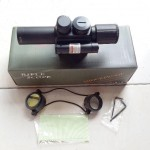 Jual Telescope Riflescope laser senapan M6 4×25 Tactical