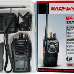 jual Radio HT Handy Talkie HT BAOFENG BF-888S Batre 2.800Mah NEw