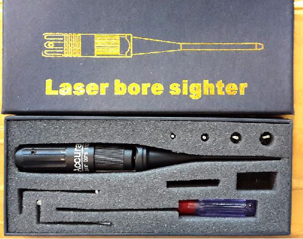 Laser boresighter alat stel zeroing telescope laser merah jual