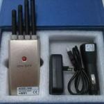 Jual Jammer portabel Alat pengacak penghilang sinyal 4 antena + wi-fi