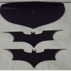 Kunai Batman pisau lempar isi 2biji lebar