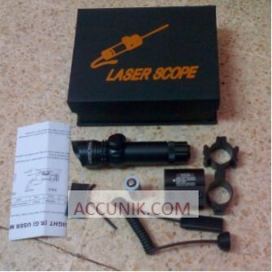 Jual Laser senapan Angin Hijau Laser Scope Green akurat murah