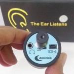 Spy ear audio Pendengar suara balik dinding
