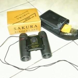 jual Teropong binocular sakura 30×60 murah meriah