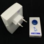 Bel wireless Tanpa Kabel Power Listrik 1 Tombol