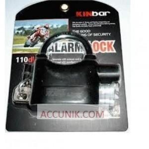 Gembok alarm 1 tangkai pendek