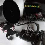 Jual Klakson Polisi patwal untuk motor 12volt 6 suara dengan Mic murah