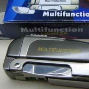 Korek multifungsi pisau, api Bara/ jet