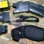 Jual stun gun taser tembak laser jarak jauh murah stungun