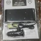 Jual USB lighter mobil 4 + 1 USB Ada On/ off