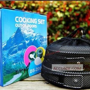 Jual Alat Memasak Nesting Cooking DS-200 Isi 2 Set