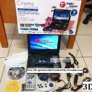 Jual DVD Player Portable Tori 9,88 (3D Spesial Full set lengkap)