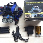 Jual Headlamp 2 LED k83 Fokus Murah