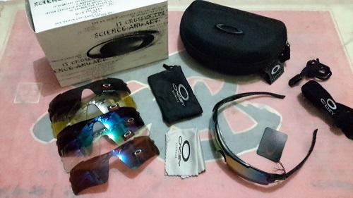 jual Kacamata Oakley Magnum 6 lensa + 1 Frame Tambahan  4d110d0956
