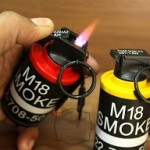 Korek Granat Flash bang Smoke