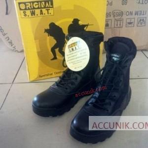 Jual Sepatu PDL outdoor SWAT Tactical Tinggi boot kualitas biasa murah