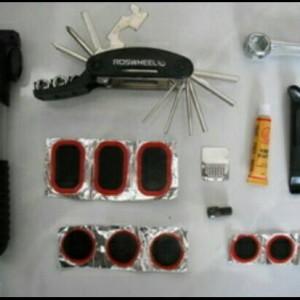 Jual Toolkit sepeda keperluan peralatan sepeda portable lengkap