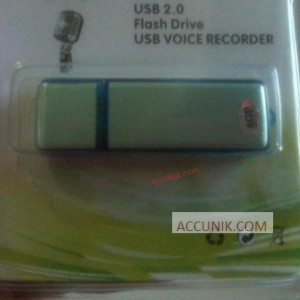 Jual Perekam suara Flashdisk voice recorder 8 Giga Internal