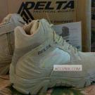 Jual Sepatu Delta Pendek 6 inc Coklat/Tan Import (satuan) murah