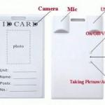 Jual Kamera Spy cam ID card 4 Giga spycam ID kartu
