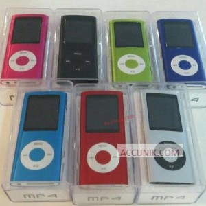 Jual Mp4 Player Layar model ipod nano Microsd Slot