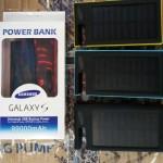 Power Bank tenaga matahari dan PLN 99000 Mah