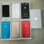 Jual PowerBank model Iphone 6 2 USB output 88.000Mah Murah