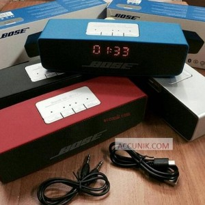 Jual Speaker Bluetooth Stereo Bose LCD ada FM radio