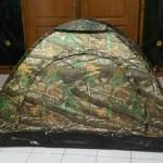 Jual Tenda kemah camping motif camo (2 orang)