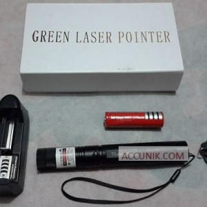jual Green laser TY 303 batre 18650 charger