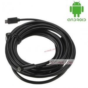 JualKamera Borescope USB Kamera Kabel Inspeksi endorscope 5 Meter ada LEd kamera android microUSB