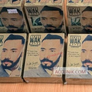 Pomade Rambut Wak Doyok waterbased Strong Hold