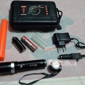 Jual Senter Police Magnet Zoom 5 mode Hardcase