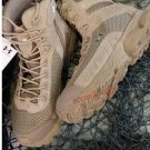 Jual sepatu boot 7 inc under armor Warna Tan Gurun dan hitam