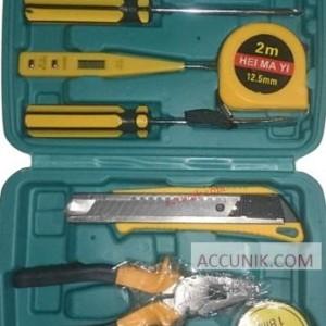 Jual Tools Kit 8 Set Kecil (12 item) Termasuk box