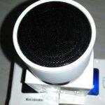 Speaker Mini Bluetooth tabung logo mobil dengan Lampu model terbaru