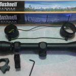 Telescope sniper senapan angin Bushnell 3-9×40 WA Tanpa Lampu