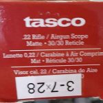 Rifle Scope Senapan Tasco 3-7×28 tanpa lampu