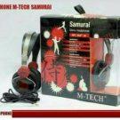Headphone Mtech Samurai (tanpa Mic)