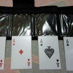 Jual Pisau lempar Motif kartu isi 4 seperti gambar