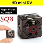 Jual kamera pengintai Mini Spycam Kamera Night Vision SQ8 HQ Best seller