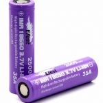 Jual Baterai Efest 18650 2500mAh 35A IMR warna Purple 120rb