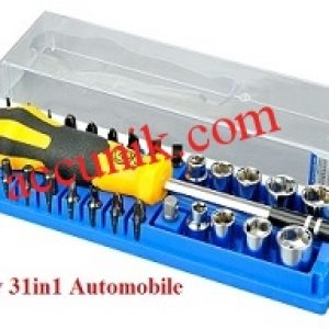 Jual Obeng tool kit Jakemy 31 in 1 Automobile (JM-6095) serbaguna