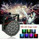 Lampu LED PAR isi 18 LED/ LEd Par RBB 3 warna Murah