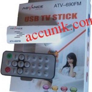 Jual murah TV Tuner USB stick Advance 690 untuk laptop dan komputer