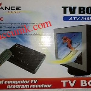 Jual TV tuner termurah Advance 318B monitor tabung/ CRT (konverter AV ke VGA)