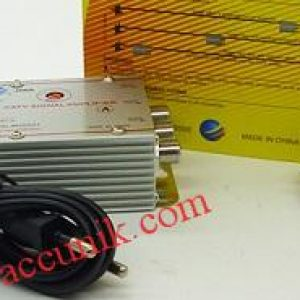 Jual Catv Penguat sinyal Amplifier tv 3 chanel 85.000,-