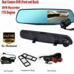 Kamera mobil depan dan kamera belakang model spion 425